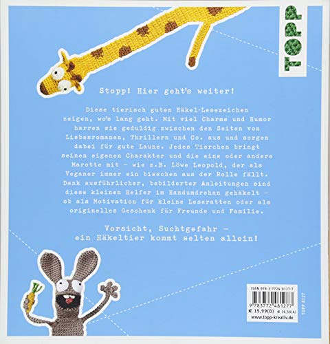 Bookies. Tierische Lesezeichen zum Häkeln - 2