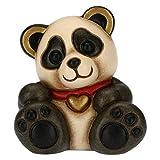 THUN - Soprammobile Minianimale Panda - Accessori per la Casa da Collezionare - Linea Thunimals - Formato Mini - Ceramica - 5 x 4,2 x 5,5 cm