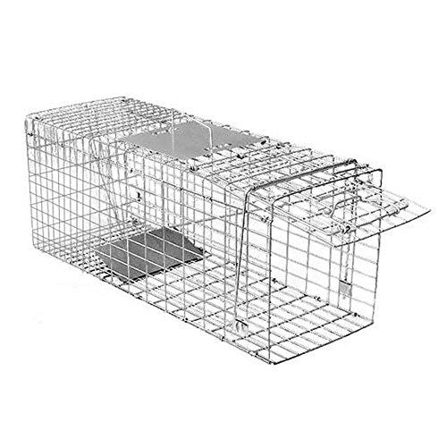 iimono117 捕獲器 (M-L-LL) / アニマルトラップ 畑 庭 家庭菜園 捕獲 トラップ 野良猫 (M)