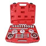 Juego de 31 piezas de extractores de cojinetes de rueda delantera, cojinete extractor de rodamientos...