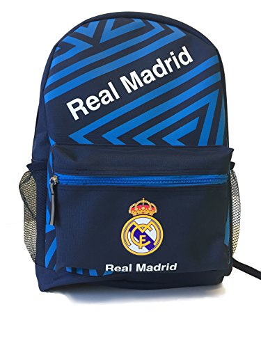 Icon Sports Official Licensed Backpack, Real Madrid, Navy