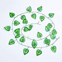 5 stks 20 0 CM Kunstplanten klimplant groen blad klimop wijnstok voor thuis bruiloft decor groothandel DIY Hangende Garlan...