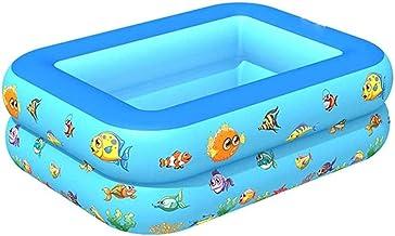 N\C ZSCC Piscina Inflable para niños Piscina Extra Grande Piscinas Azules Frescas de Verano para reemplazar la Piscina del Patio Trasero Piscina de Agua Inflable