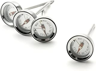 Charcoal Companion CC9025 Reusable Steak Button Thermometer Set (4 Included)
