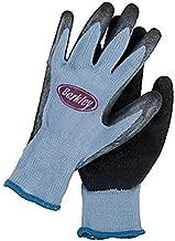 Berkley Coated Fishing Gloves, Blue/Grey