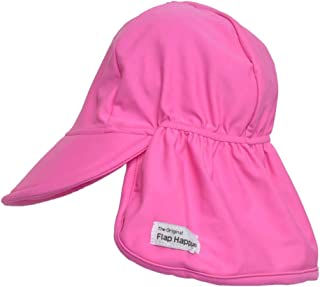 Flap Happy Baby and Childrens Swim Flap Hat UPF 50+, Highest Certified UV Sun Protection, Azo-free dye, Floats on Water