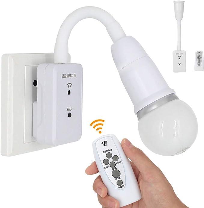 149 opinioni per Smart LED Remote Plug-in flessibile a parete luminosa E27 vite presa lampadina