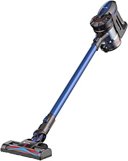 Proscenic P8コードレススティック掃除機、軽量コードレス掃除機、バッテリー充電式、2速吸引力、家族や車の掃除のための取り外し可能なバッグレスハンドヘルド掃除機の掃除機