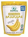 NATIERRA Premium Freeze-Dried Bananas | Non-GMO & Vegan | 1.3 Ounce (Pack of 4)