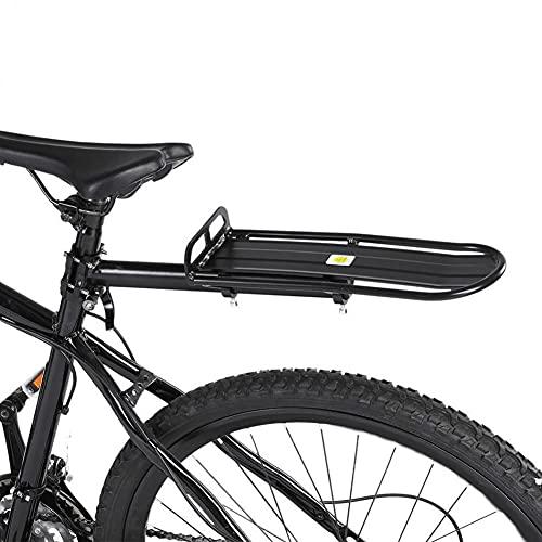 Porte Bagage Rétractable en Alliage D'aluminium pour Vélo Porte-Bagages Vélo VTT Arrière Universel Support De Bagage De Siège Arrière De Vélo Installation Rapide