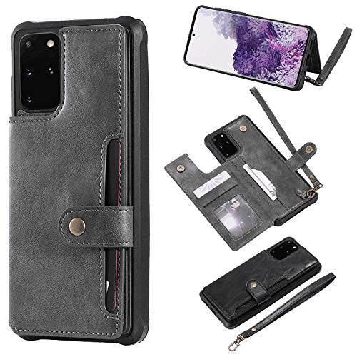Flip Case Fit for iPhone XR, Card Holders Kickstand Extra-Shockproof Leather Cover Wallet for iPhone XR