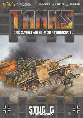 Warehouse Games WHG23300 - Tanks: German StuG G Erweiterungspack, deutsch