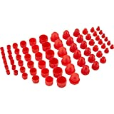 Plastic AN Fitting Cap and Plug Kit, 72 Pieces...