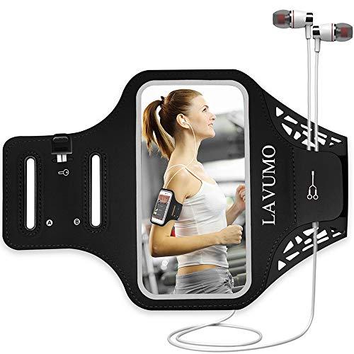 Sportarmband Armtasche für iPhone 7 8 6 6s SE 5S 5 5C Samsung Galaxy a3 S3 S4 Joggen Laufen Handy Sport Handytasche Handyhalterung mit Schlüsseltasche & kleines Geld