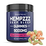 🍉150mg PER GUMMY of 100% pure hemp extract and melatonin 3mg combine to create a natural method of calming anxious thoughts that delay your sleep. This quieting of your mind allows you to fall asleep faster and stay asleep through the night. 🍉RICH IN...