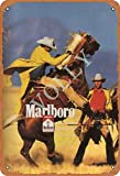 Marlboro Blechschild Metall Plakat Warnschild Retro