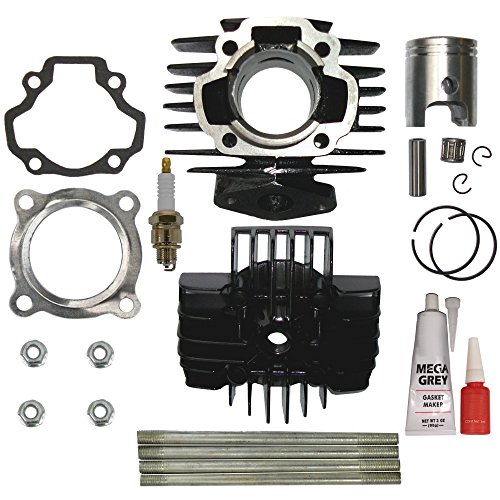 ZOOM ZOOM PARTS Cylinder Piston Ring Head Gasket Set Kit FOR YAMAHA PW 50 PW50 QT 50 QT50 BRAND NEW