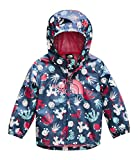 The North Face Infant Novelty Flurry Wind Jacket, Blue Wing Teal Cactus Lino Print, 18M