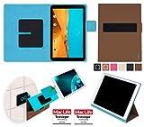 reboon Hülle für LG G Pad II 10.1 Tasche Cover Case Bumper | in Braun | Testsieger