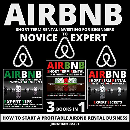 Airbnb Short Term Rental Investing for Beginners - 3 Books in 1 cover art