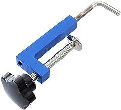 S-TROUBLE Abrazadera Universal Ajustable para carpintería G Abrazadera para Valla Abrazadera Fija rápida Útil Abrazadera de sujeción rápida Herramienta Manual de aleación de Aluminio