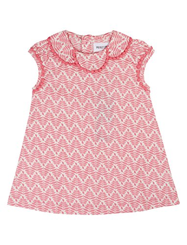 Phister & Philina Baby-Mädchen Bella Dress Kleid, Mehrfarbig (Conch Shell Con), 74