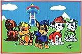 Fun House Paw Patrol 712541–Alfombra Infantil, diseño de la Patrulla Canina, 120x 80cm