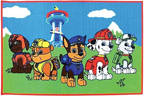 Fun House -712541–Pat Patrouille–Teppich 120x 80cm für Kinder