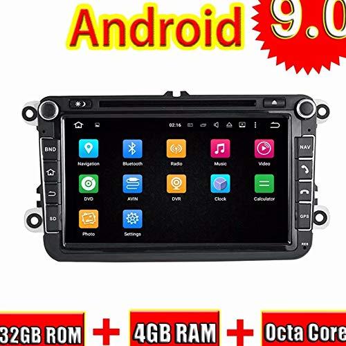Unité de 8 Pouces ROADYAKO Android 8.0Head avec Bouton pour VW Voiture Universel stéréo Radio WiFi 3G RDS Octa Core Lien Miroir FM AM Audio BT