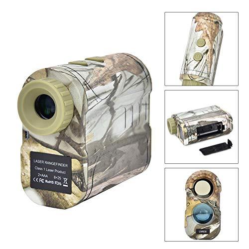 600m Teleskop-Entfernungsmesser, Tarnteleskop-Entfernungsmesser für Jagd, Bogenschießen, Entfernungsmesser Rangfinder(B)