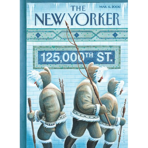 The New Yorker (March 6, 2006) cover art