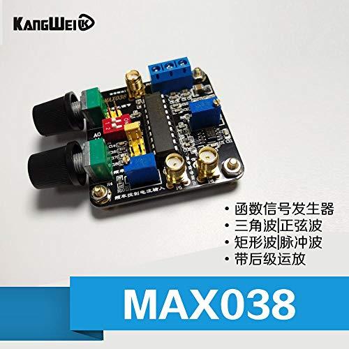 Das MAX038-Funktionssignalgenerator-Modul der Dreieckwellen-Sinuswellen-Rechteckwellen-Pulswelle nach dem Stufenverstärker