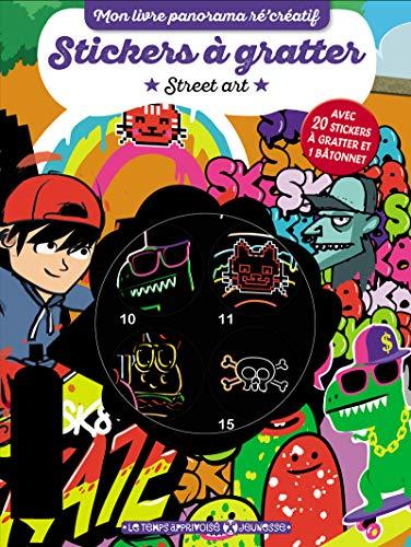 Stickers à gratter - Street art (Mon livre panorama récréatif)