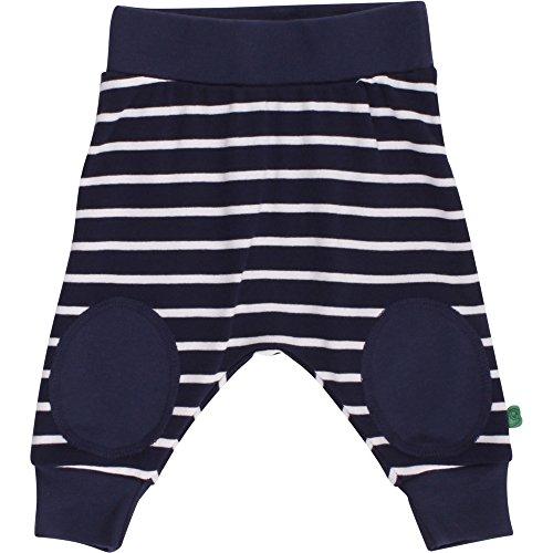 Fred's World by Green Cotton Stripe Funky Pants, Pantalon Mixte Bébé Bleu (Navy/Cream 1535033300-019800002) 18 mois