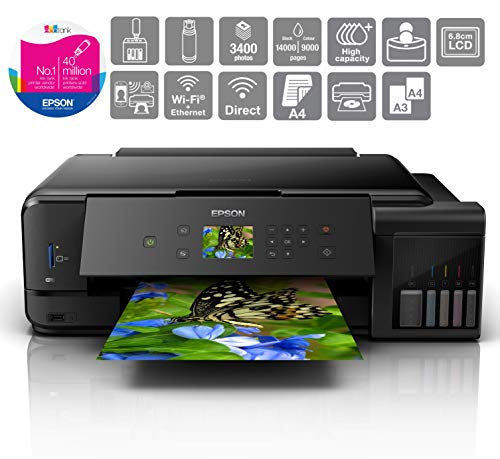 Epson EcoTank ET-7750 A3 Print/Scan/Copy Wi-Fi Photo Printer