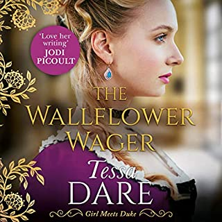 The Wallflower Wager cover art