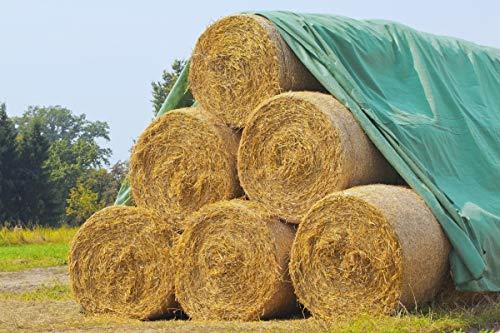 Land-Grid V04 Strohvlies, Abdeckvlies,Heuvlies, Schutzvlies für Stroh, Getreide, Heu, Kompost, 140g/m² - 12 x 25m