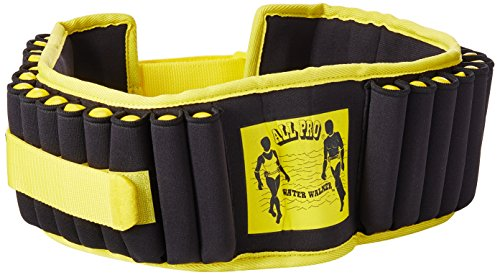 All Pro Aquatic Exercise Belt, Water Walker ®, Weight Adjustable up to 10-lbs