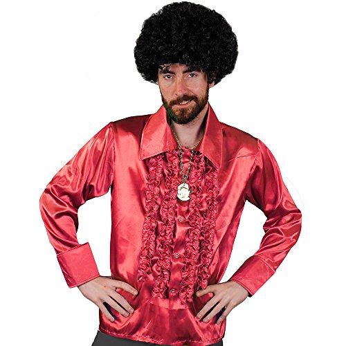 I Love Fancy Dress ILFD4599L Vestito per travestimenti in stile disco anni '70, per uomo, taglia L, rosso