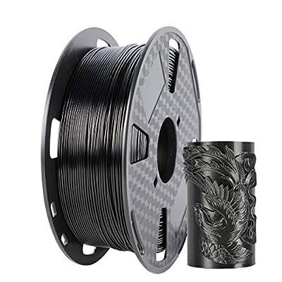 PETG Black 3D Filament 1.75mm 1KG 1 Spool