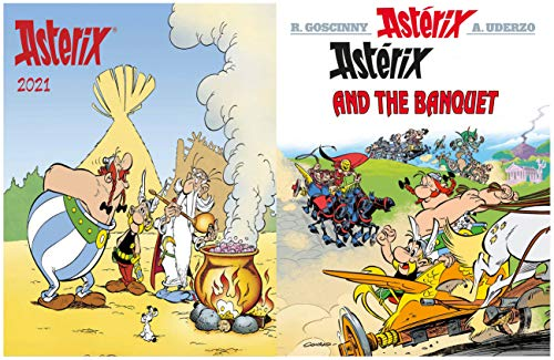 Asterix Full Series : Issue 5-ASTERIX AND THE BANQUET (English Edition)