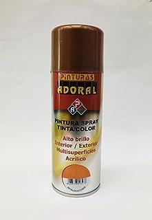 Adoral - Esmalte en Spray Pintura Metalizada Sintética 400 ml (COBRE)
