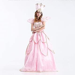 SUN HUIJIE Halloween Princess Dress, Cinderella/Godmother/Snow White/Queen Costume, Cospaly Show Costume