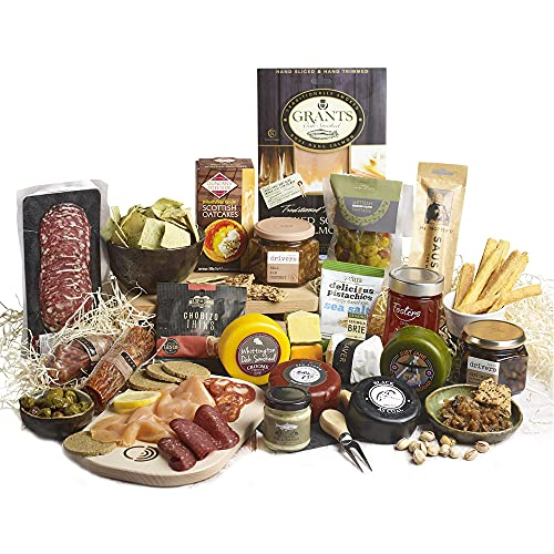 The Smorgasbord :Cheese, Fish & Meat Luxury Christmas Buffet Hamper Box- Free UK Delivery