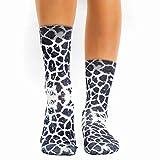 Wigglesteps Damen Socken Cow 1