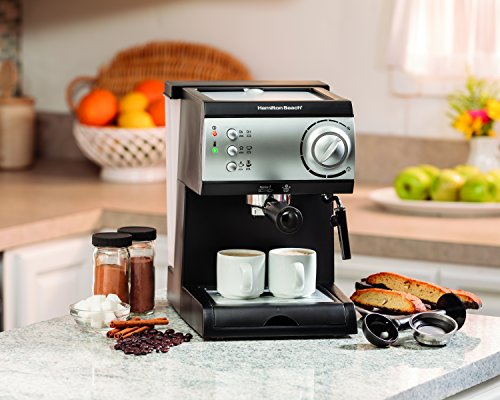 Key Features Of Hamilton Beach 40715 Espresso Machine