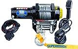 Superwinch (1140220) Black 12 VDC LT4000ATV Winch - 4000 lb. Load Capacity...