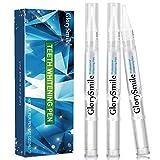 GlorySmile Teeth Whitening Pen (3 Pack) Safe 35% Carbamide Peroxide Gel,Teeth Whitening Gel Kits, No Sensitivity, Travel-Friendly,Professional Dental Whitener