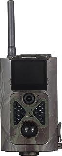 Cámara de caza de 12MP 1080P Cámara de visión nocturna activada por movimiento con pantalla de 2.0Tft LED infrarrojo impermeable IP54 para caza de vida silvestre al aire libre y seguridad en el hogar