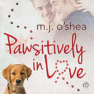 Pawsitively in Love audiobook cover art